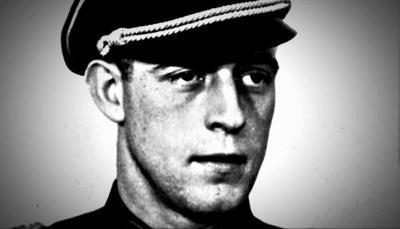 SS-Sturmbannführer und persönlicher Adjutant Adolf Hitlers: Otto Günsche.
