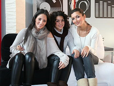 X Factor 2011 Interview Raffaela Nica Monique