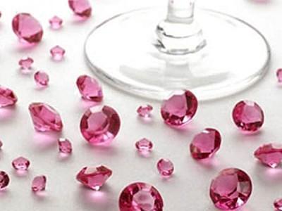 Hochzeitsdeko Tischdekoration In Rosa Pink