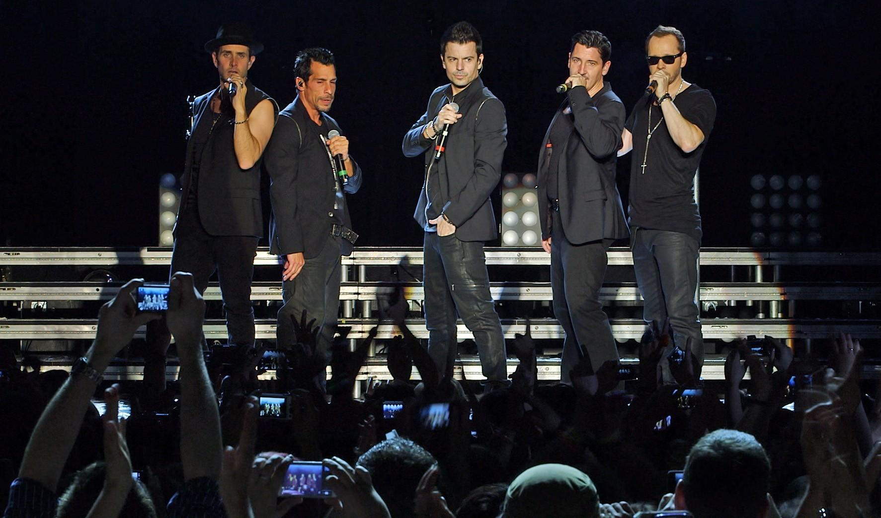 N'SYNC, Justin Timberlake und New Kids on the Block