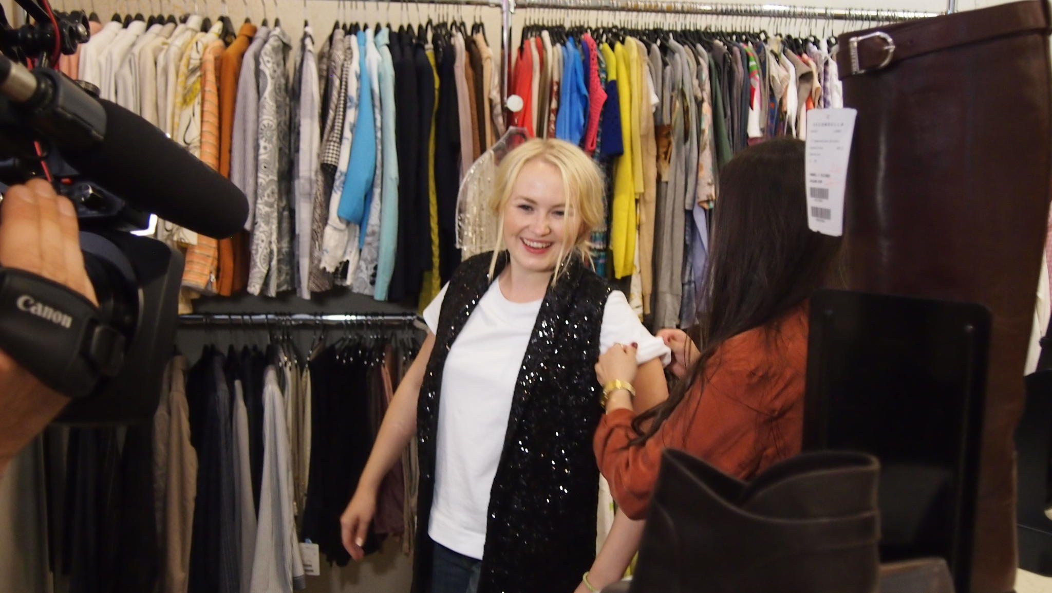 Shopping QUeen KW 43 Hamburg Kylie Minogue Backstage