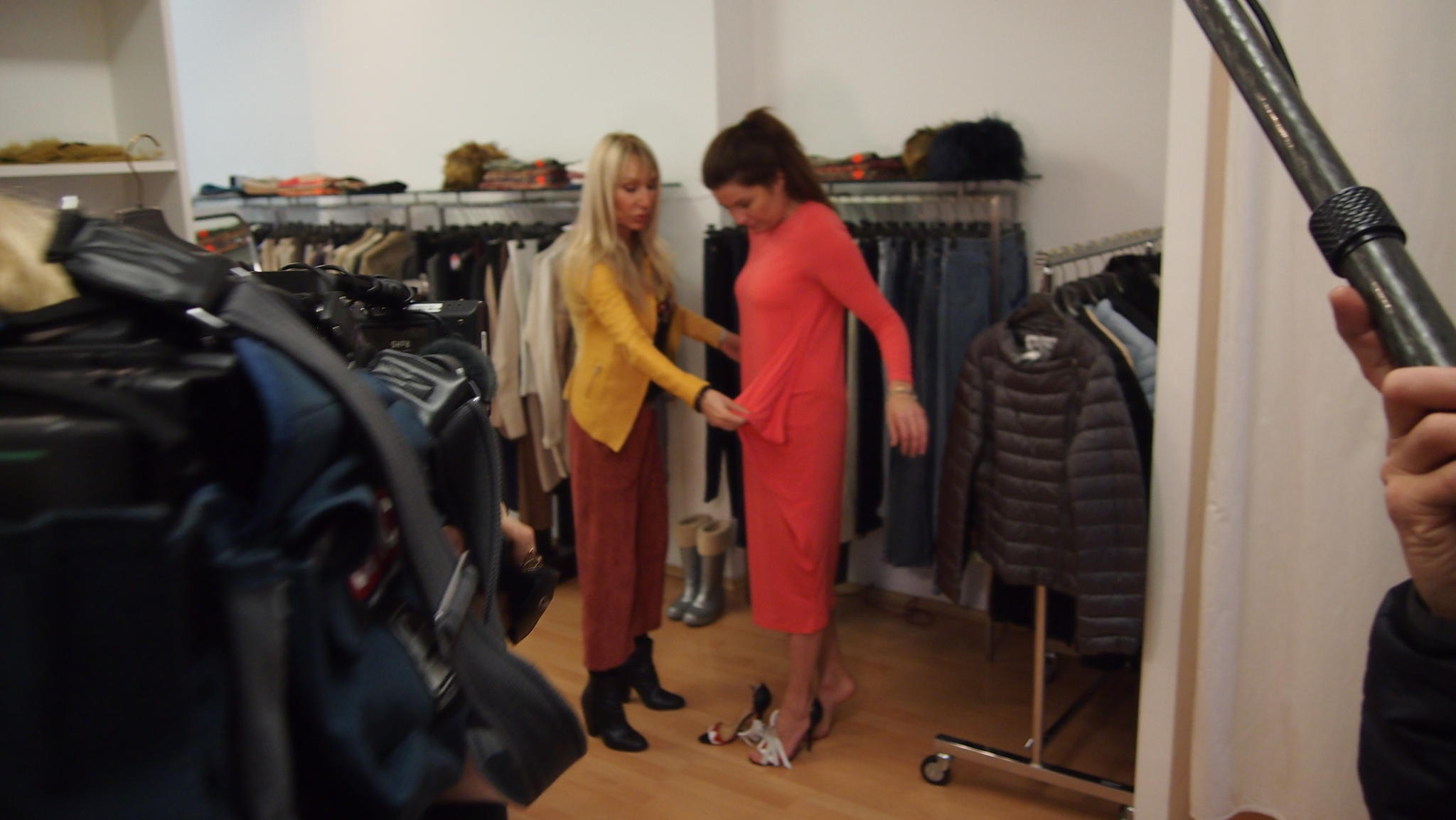 SQ Shopping Queen KW 13 München Oversize Backstage