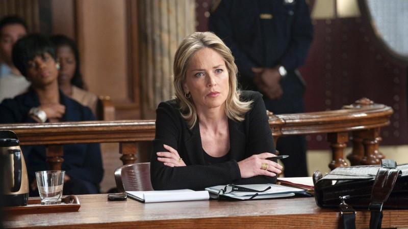 "Sharon Stone in ""Law & Order: SVU"""