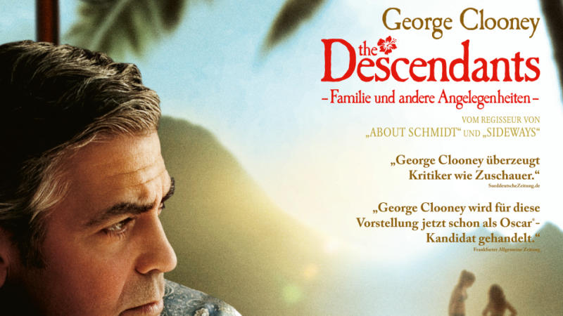 The Descendants: George Clooney