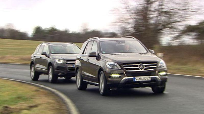 VW Touareg vs. Mercedes ML