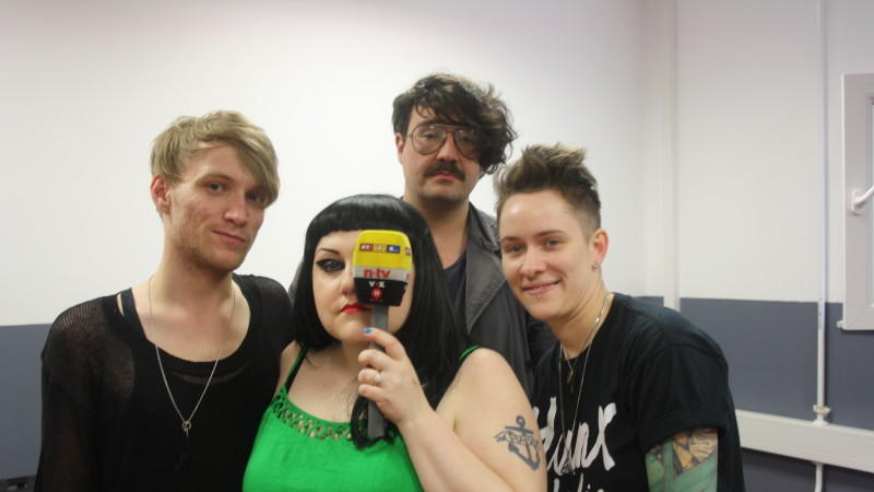 "Beth Ditto, Nathan ""Brace Paine"" Howdeshell, Hannah Blilie"