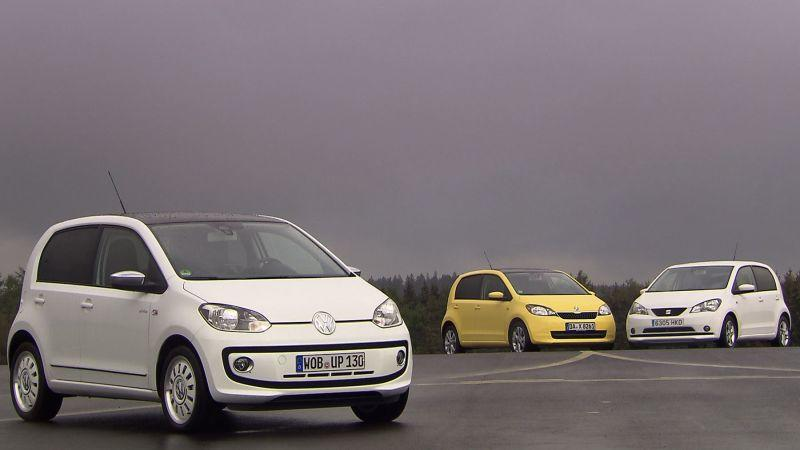 VW Up – Skoda Citigo – Seat Mii