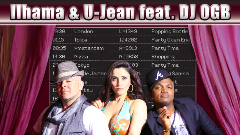 "Ilhama & U-Jean feat. DJ OGB mit ihrer neuen Single ""Flying"""