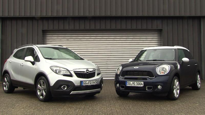 Opel Mokka vs. Mini Countryman