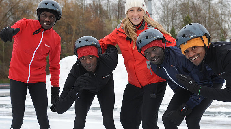 """Real Cool Runnings"": Mit Eisschnellläuferin Anni Friesinger chatten!"