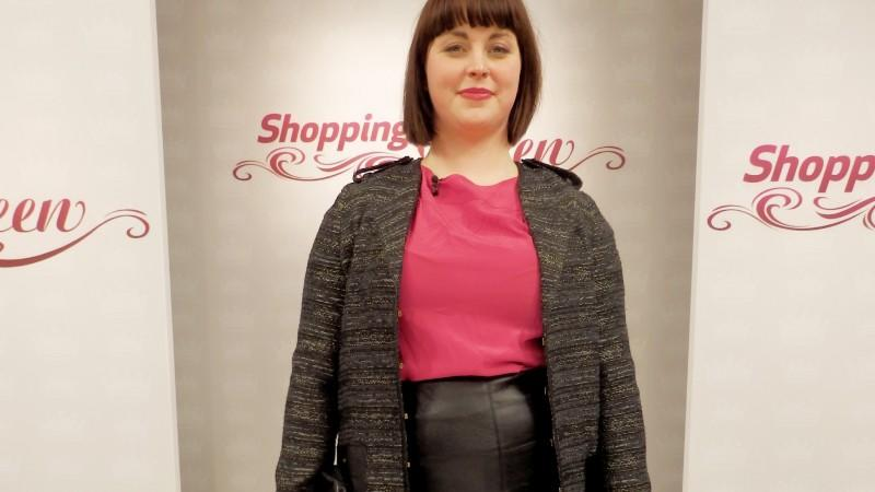 "Vika auf dem Catwalk von ""Shopping Queen"" in Berlin"