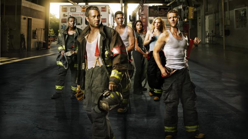 Das Chicago Fire Team © VOX/NBC Universal