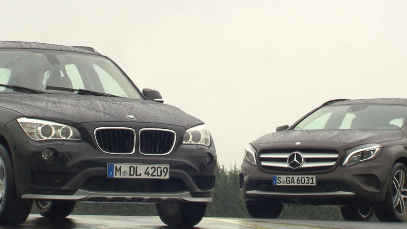 Mercedes GLA vs. BMW X1