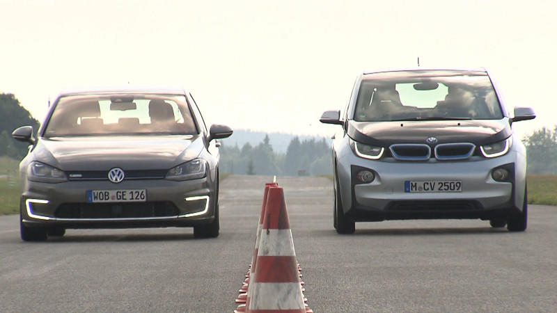 E-Golf vs. BMW i3