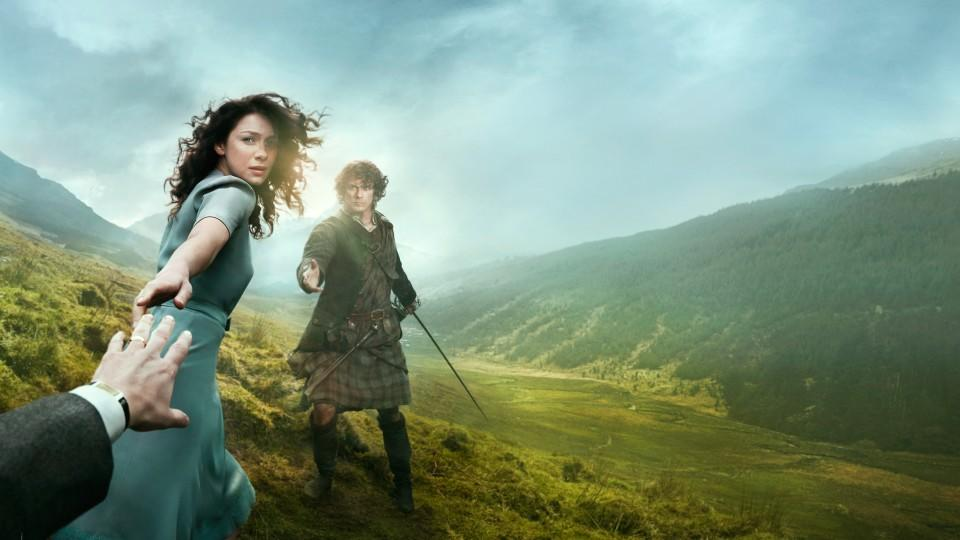 """Outlander"" mit Claire Randall (Caitriona Balfe) © VOX/Sony Pictures Television Inc."