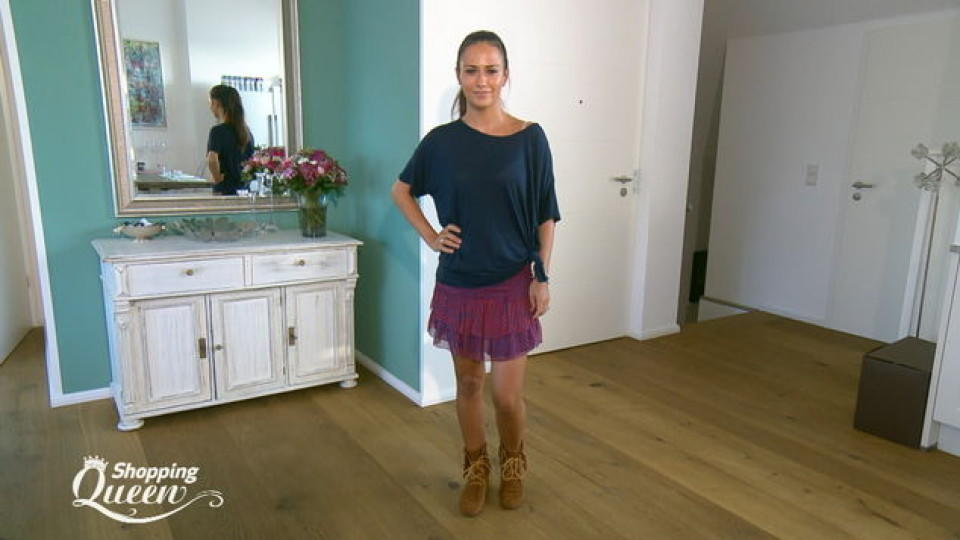 "Lejla im Style-Check bei ""Shopping Queen"""
