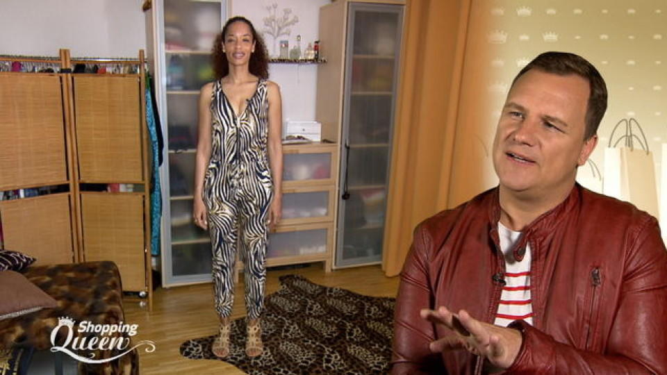 "Manty im Style-Check bei ""Shopping Queen"""