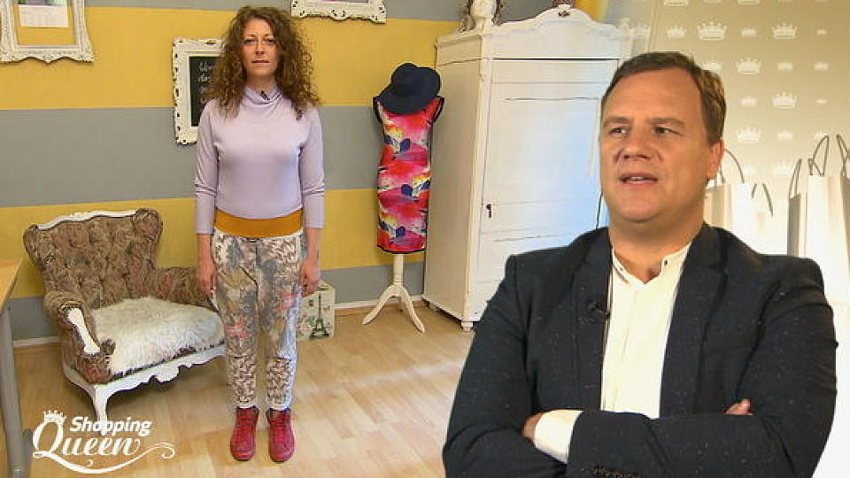 "Shopping Queen: Kati im Style-Check bei ""Shopping Queen"""