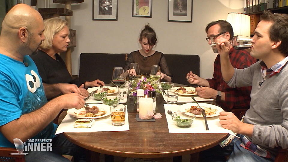 """Das perfekte Dinner"" in Hamburg bei Sophie"