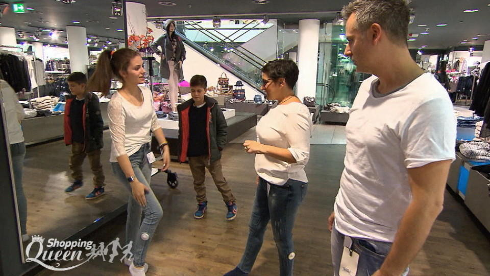 "Familie de la Bastide auf Shoppingtour bei ""Shopping Queen"""