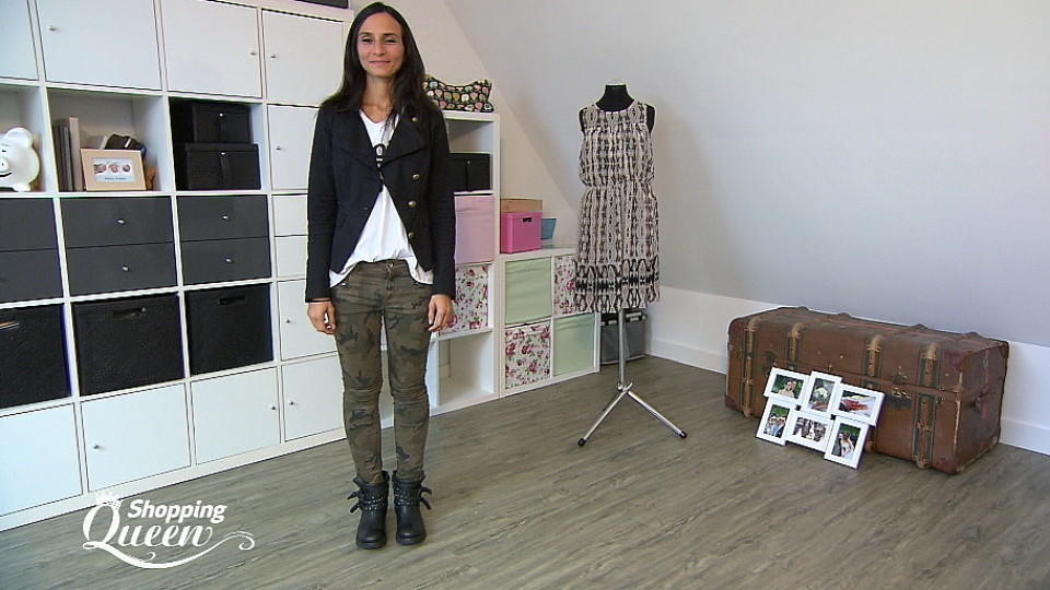 "Irene im Style-Check bei ""Shopping Queen"""