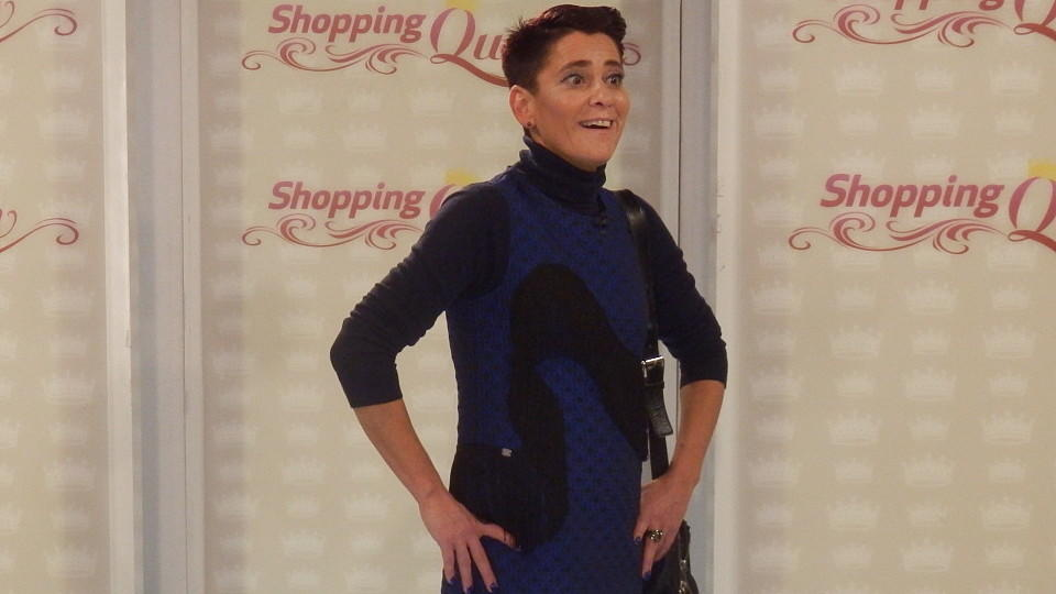 "Regina auf dem ""Shopping Queen""-Catwalk"