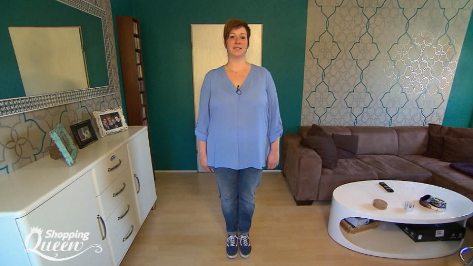 "Kerstin im Style-Check bei ""Shopping Queen"""