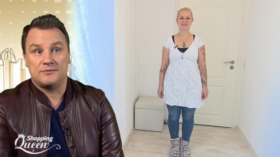 "Ines im Style-Check bei ""Shopping Queen"""