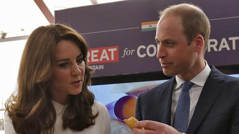 Prinz William und Kate in Indien