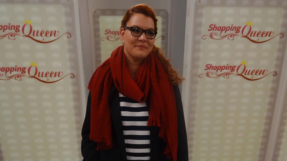 "Sarah punktet mit ihrem Catwalk-Look bei ""Shopping Queen"""