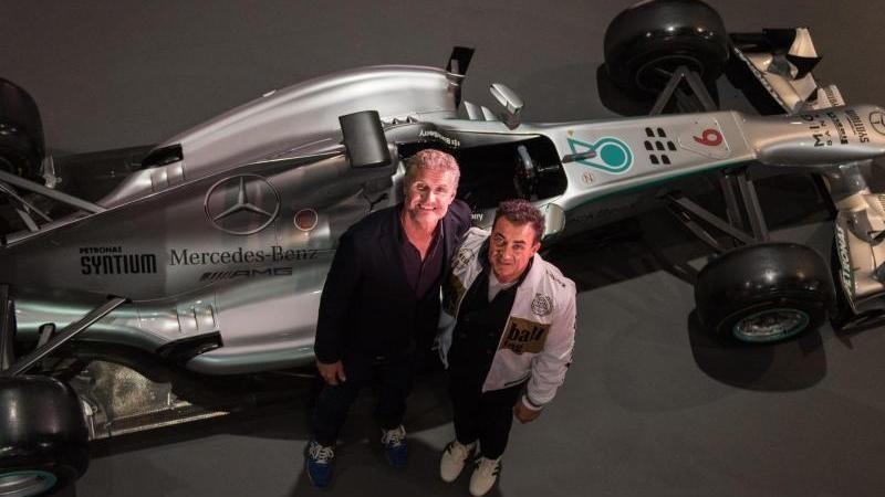 David Coulthard und Jean Alesi