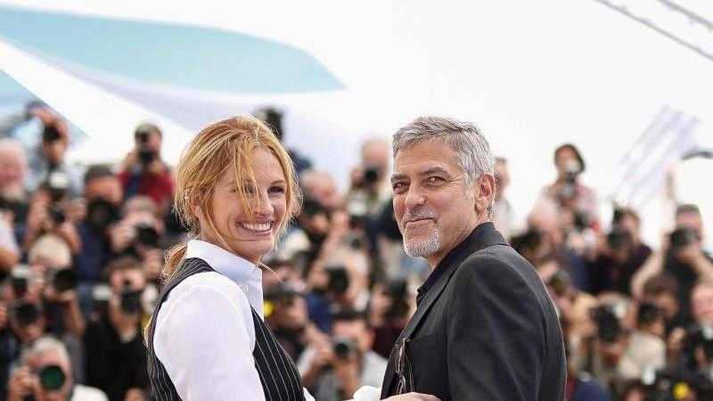 Filmfestival Cannes - Clooney + Roberts
