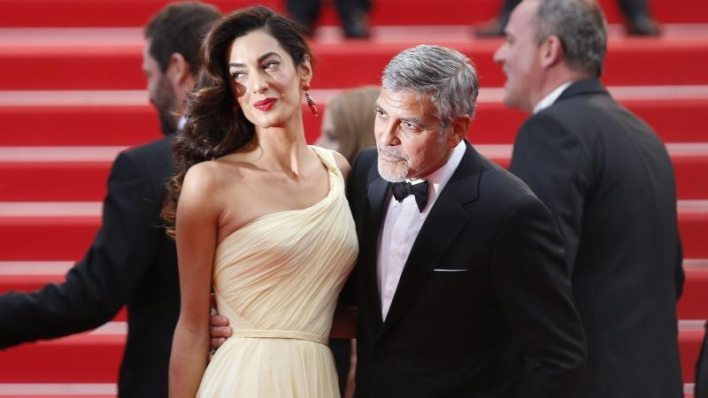 Filmfestival Cannes - George & Amal Clooney