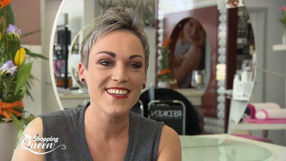 """Shopping Queen""-Kandidatin Sabine"