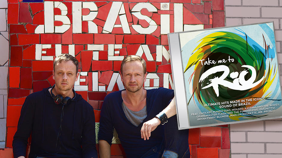 Die Berman Brothers mit Take me to Rio - Ultimate Hits Made In The Iconic Sound Of Brazil