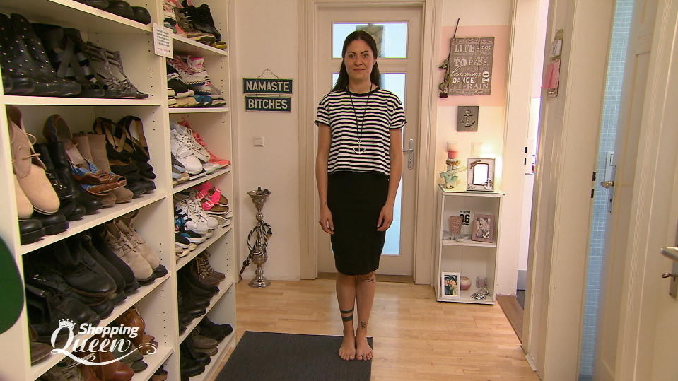 "Ivana im Style-Check bei ""Shopping Queen"" in Stuttgart"