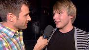 Jochen Schropp backstage mit Martin Madeja