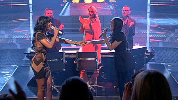 "Raffaela performt mit Kelly Rowland ""When Love Takes Over"""
