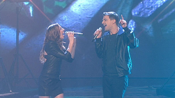 "David Pfeffer performt mit Mel C ""First Day Of My Life"""