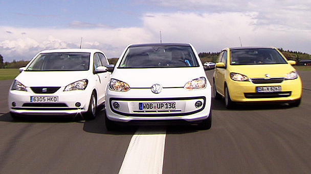 VW Up vs. Skoda Citigo vs. Seat Mii