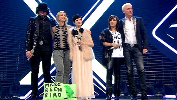 Mrs. Greenbird haben den X Factor!