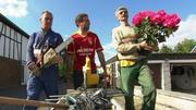 Claus, Ralle und Ralf Dammasch sind ein unschlagbares Trio