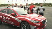 Knackt Alexander Bloch den Mazda-Weltrekord?