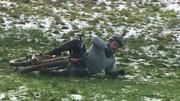 Das Mountain-Biken wird zur harten Prüfung