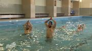 """Wassergymnastik ist auch was für """"Echte Männer"""""""