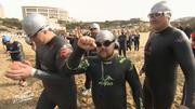 Auf in den Kampf: Der Cross-Triathlon beginnt!