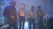 """Die """"Echten Männer"""" begeistern mit ihrem heißen Strip"""