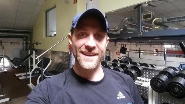 Helge Thorn motiviert die Männer noch einmal