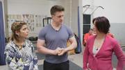 Matthias Steiner zeigt Jota und Uschi, wie's geht