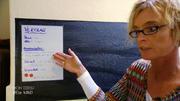 Mutter Christina hat einen Vertrag aufgesetzt